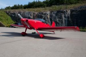 Flyet til Geir Berg